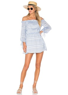 Lovers + Friends x REVOLVE Get Lost Dress in White. - size L (also in M,S,XL, XS)