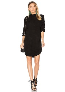 Lovers + Friends x REVOLVE Gigi Sweater Dress in Black. - size M (also in S,XS)