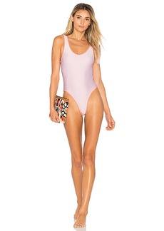 Lovers + Friends x REVOLVE Good Times One Piece in White. - size L (also in M,S,XS)