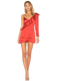 Lovers + Friends x REVOLVE Haven Dress in Red. - size L (also in XS,S,M)