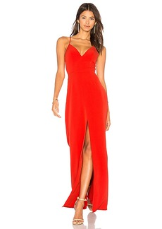 Lovers + Friends x REVOLVE Helena Gown in Orange. - size 0 (also in 2,4)