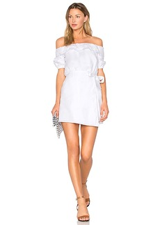 Lovers + Friends x REVOLVE Jules Dress in White. - size L (also in M,S,XS)
