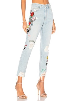 Lovers + Friends x REVOLVE Logan High-Rise Tapered Jean. - size 23 (also in 24,25,26,27,28,29)