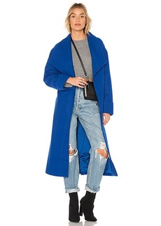 Lovers + Friends x REVOLVE Maddie Coat in Blue. - size L (also in M,S,XL, XS, XXS)