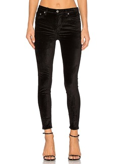 Lovers + Friends x REVOLVE Mason High-Rise Skinny Jean in Black. - size 23 (also in 24,25,26,27,28,29,30,31)