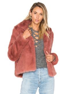 Lovers + Friends x REVOLVE Mia Faux Fur Jacket