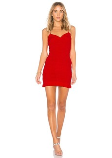 Lovers + Friends x REVOLVE Monaco Dress in Red. - size L (also in M,S,XS)