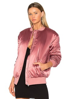 Lovers + Friends x REVOLVE My Lover Bomber in Rose. - size L (also in M,S)
