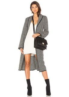 Lovers + Friends x REVOLVE Nadia Coat in Black. - size L (also in M,S,XS, XXS)