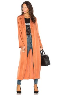 Lovers + Friends x REVOLVE Nina Trench in Rust. - size L (also in M,S,XS, XXS)