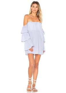 Lovers + Friends x REVOLVE Ronita Dress in Blue. - size L (also in XS,S,M)