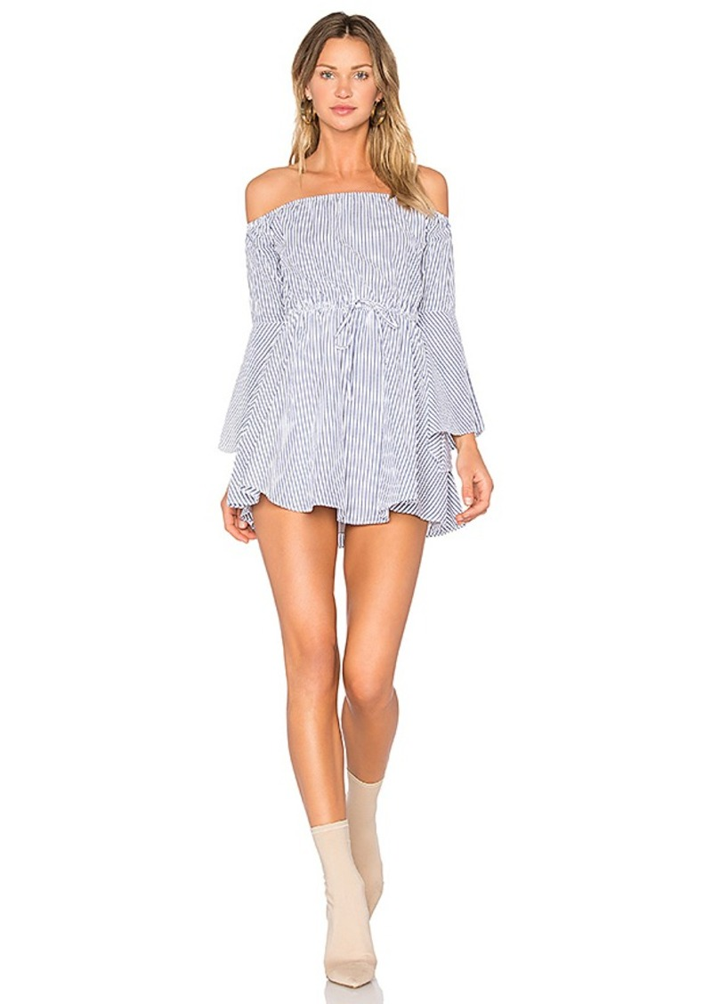 x REVOLVE Mal Dress in Ivory. - size S (also in L,M) Lovers + Friends