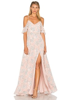 Lovers + Friends x REVOLVE Taylor Gown in Blush. - size 0 (also in 2,4,6)