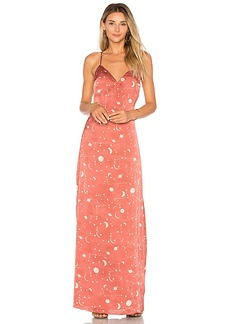 Lovers + Friends x REVOLVE The Revival Dress in Rose. - size L (also in M,S,XS)