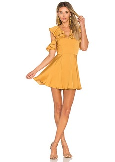 Lovers + Friends x REVOLVE Trophy Dress in Yellow. - size M (also in L,XL)