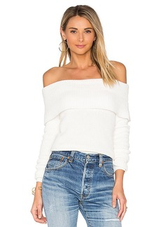 Lovers + Friends x REVOLVE Vylette Sweater in Ivory. - size L (also in M,XL)