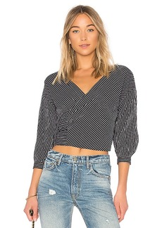 Lovers + Friends x REVOLVE Ziggy Blouse in Black. - size L (also in M,S,XL, XS)