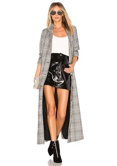 Lovers + Friends Zack Duster in Gray. - size M (also in S,XS)