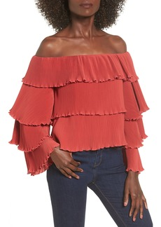 Lovers + Friends Zayn Off the Shoulder Top