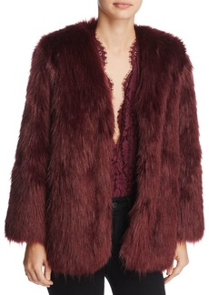 Lovers + Friends Lovers and Friends Adora Faux-Fur Jacket