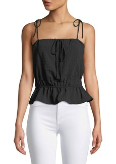 Lovers + Friends Hallie Tie-Strap Top