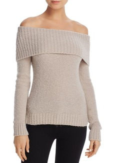 Lovers + Friends Lovers and Friends Luna Off-the-Shoulder Sweater