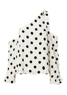 Lovers + Friends Rachel Polka Dot Blouse