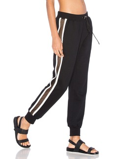 WORK by Lovers + Friends On the Line Track Pant