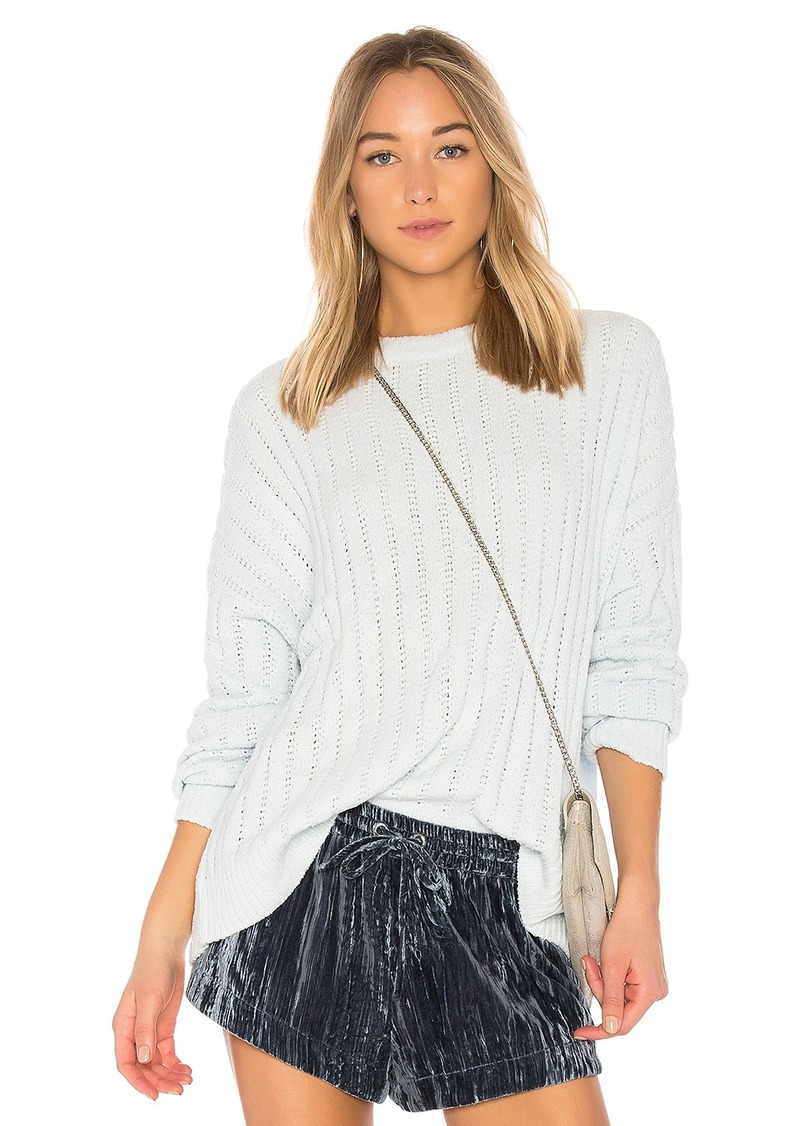 Attitude Sweater in White. - size M (also in L,S,XS,XXS) Lovers + Friends