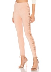 x REVOLVE Laced and Lovely Legging in Blush. - size S (also in L) Lovers + Friends UFGSgcGJyR