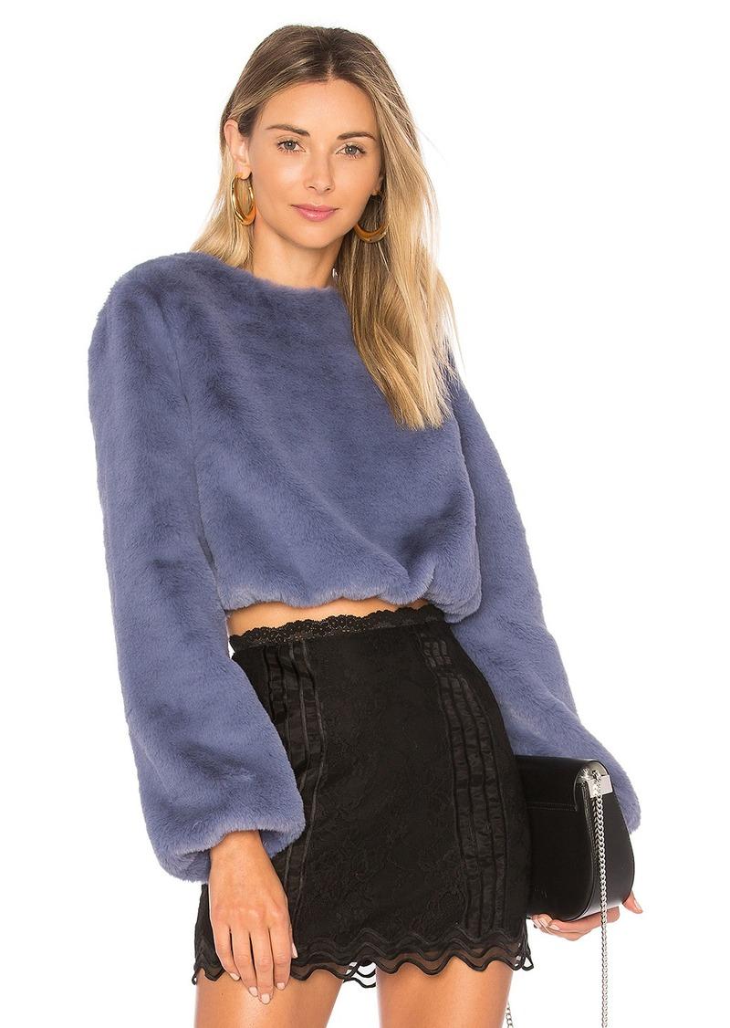 f16dfd2a8 Lovers + Friends x REVOLVE Teagan Faux Fur Sweater