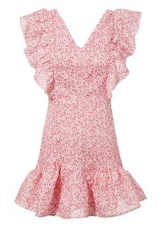 LoveShackFancy Alanis Lace Mini Dress