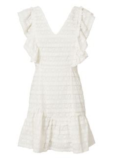 LoveShackFancy Alanis Lace Mini Dress