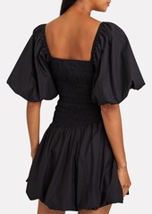 LoveShackFancy Asa Smocked Bubble Dress