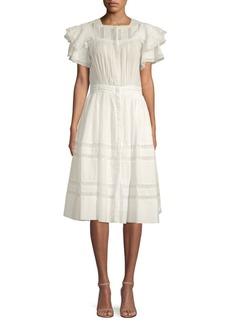 LoveShackFancy Callie Midi Dress
