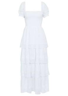 LoveShackFancy Capella cotton maxi dress