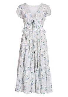 LoveShackFancy Carlton Floral Dress