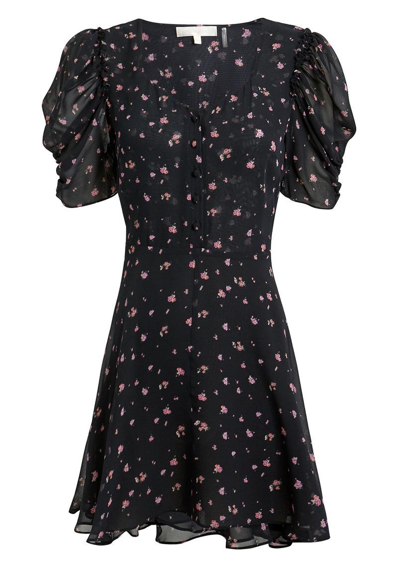 Cora Floral Mini Dress