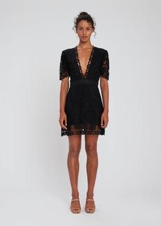 LoveShackFancy Daniela Lace Mini Dress - 10 - Also in: 0, 6, 4