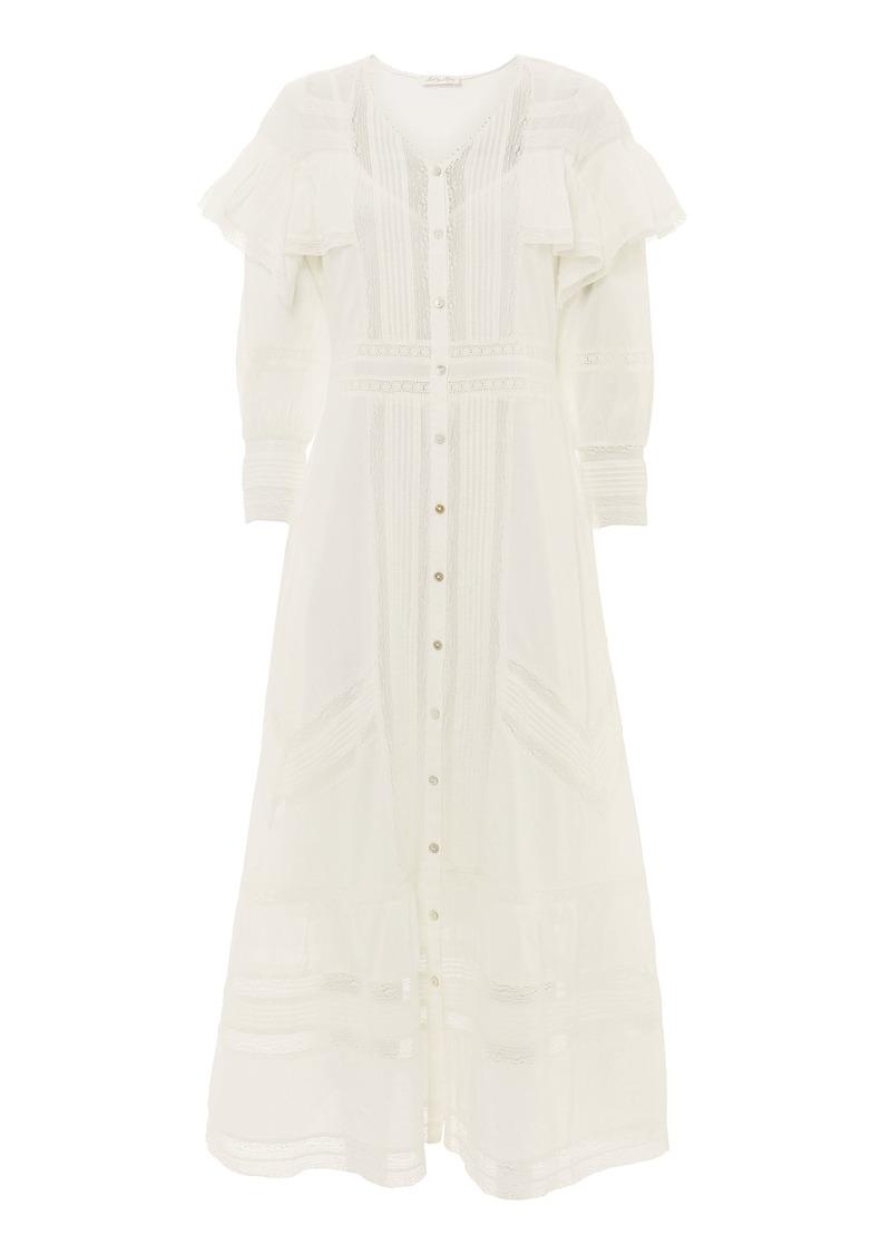 LoveShackFancy Delphine Maxi Dress