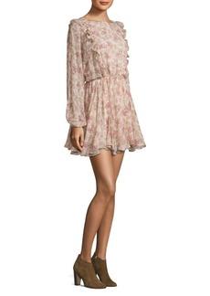 LoveShackFancy Floral Ruffle Noelle Dress