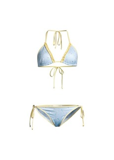 LoveShackFancy Harbor Two-Piece Bikini Set