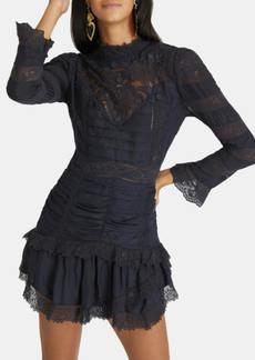 LoveShackFancy Harmon Mini Shirred Lace Dress - 2 - Also in: 6, 4, 10, 0