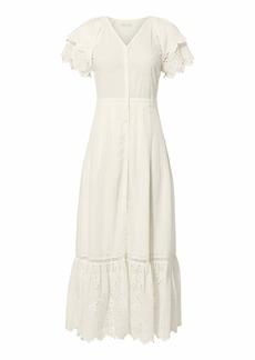 LoveShackFancy Jodie Ruffle Maxi Dress