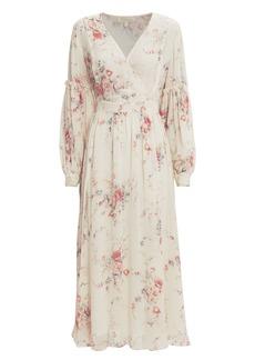 LoveShackFancy Leah Floral Dress