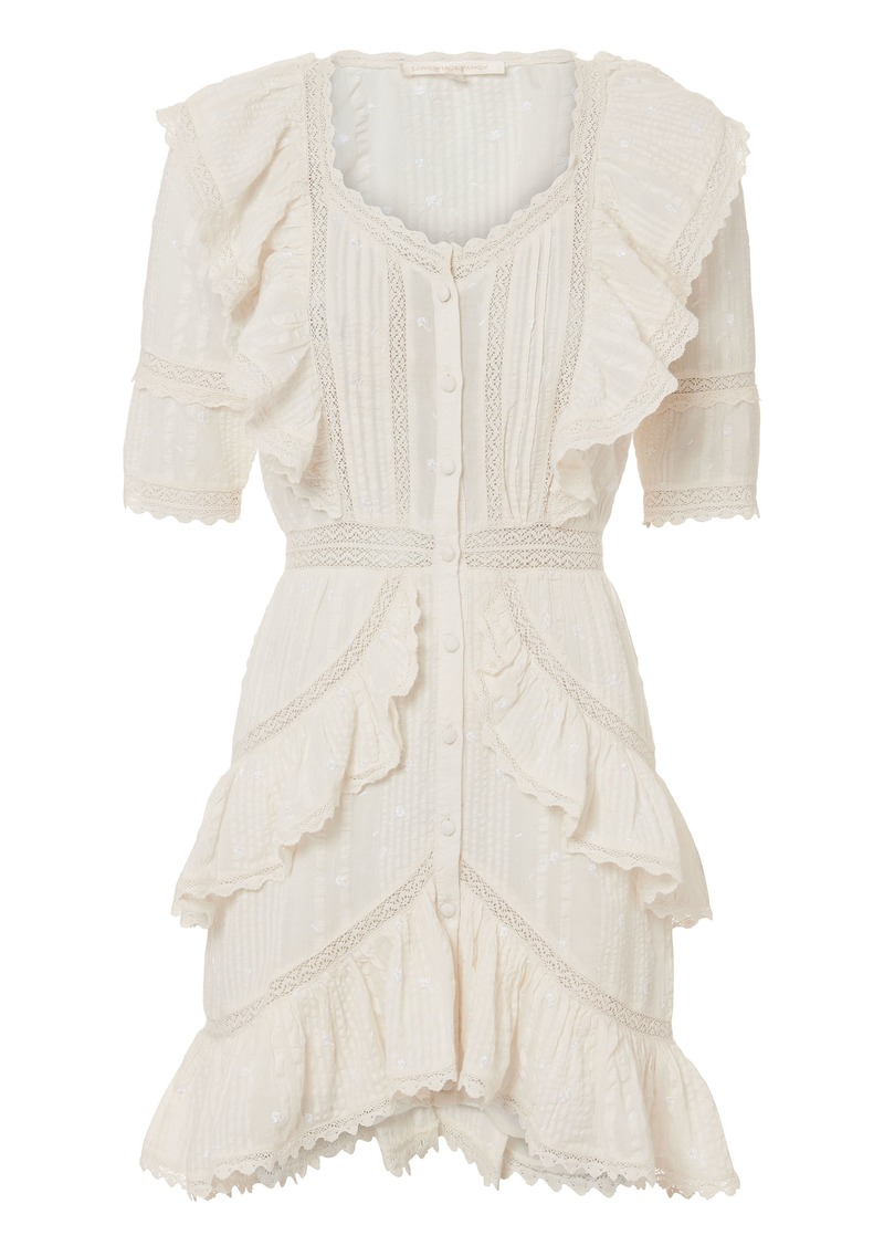 LoveShackFancy Lela Ruffle Dress