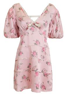 LoveShackFancy Lennox Mini Dress