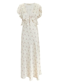 LoveShackFancy Lillian Floral Dress