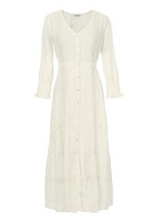 LoveShackFancy Botanic Victorian Maxi Dress