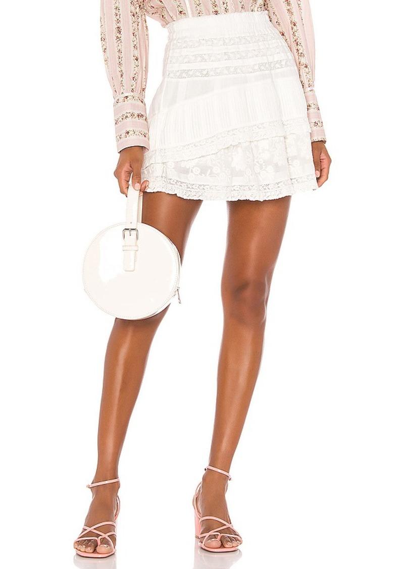 LoveShackFancy Adelia Skirt
